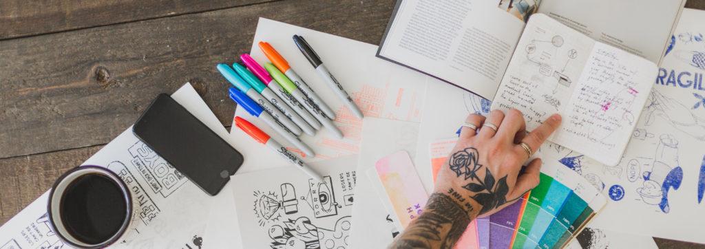 Kunstenaars en bedrijven
